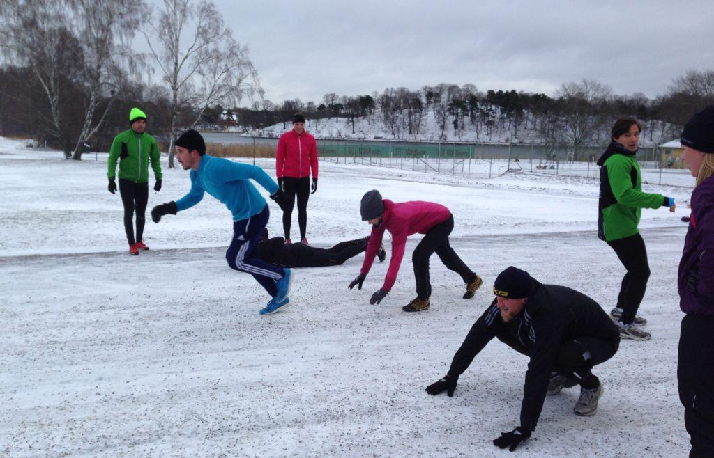 utomhusträning vinter