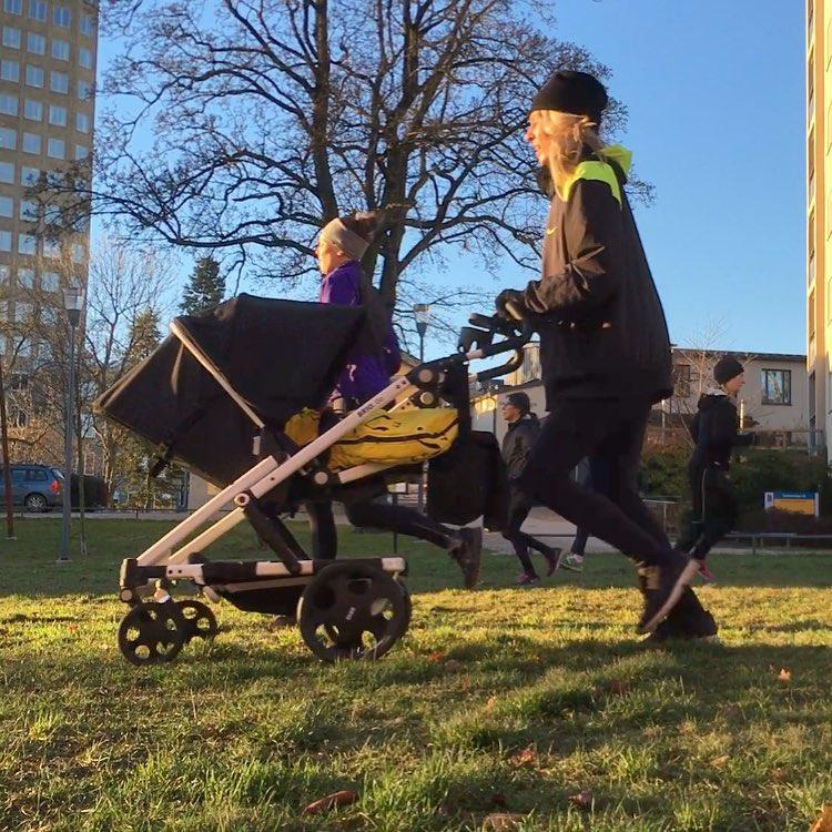 barnvagnsträning